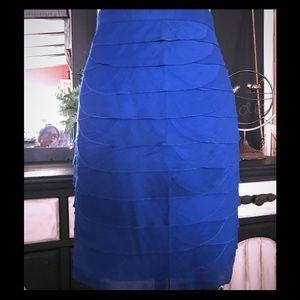 Cerulean layer skirt